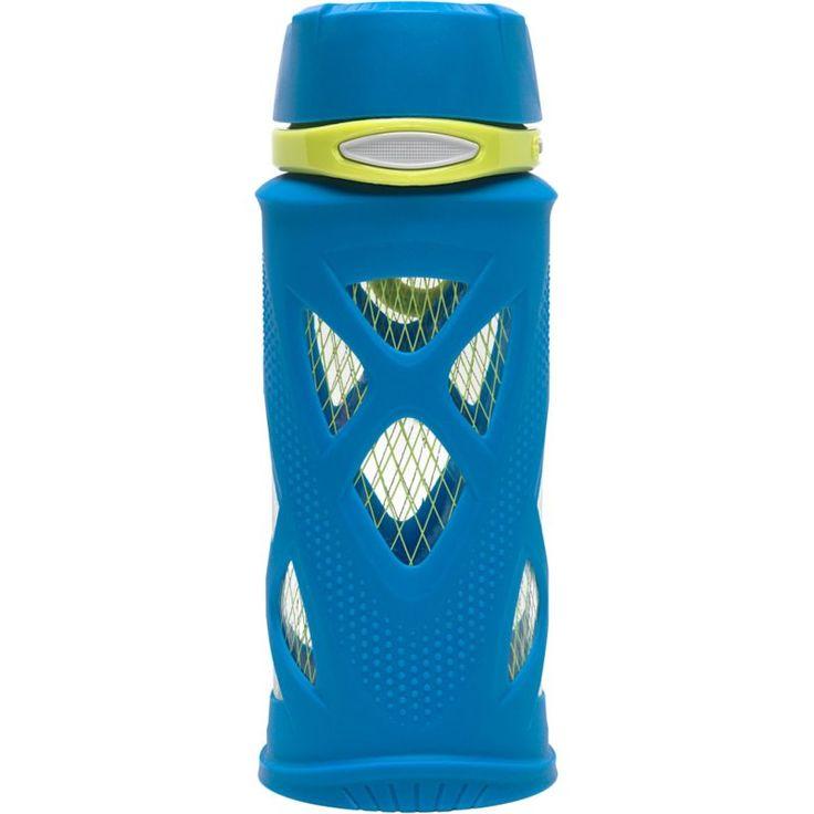 Zulu Shorty Tritan 16 oz. Water Bottle, Blue