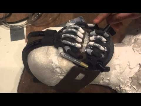 How to make your own Bane Mask Tutorial DIY - YouTube