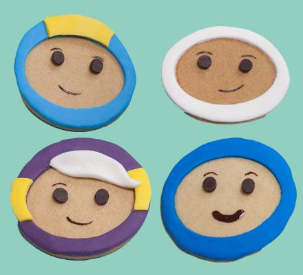 Go Jetters biscuit faces                                                                                                                                                                                 More