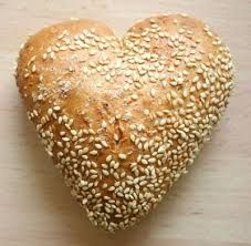 Image result for heart shaped bread