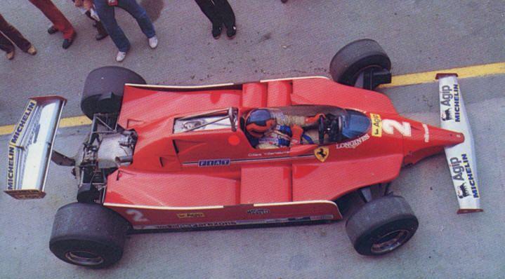 Gilles, Ferrari 126 CK prototype, 1980