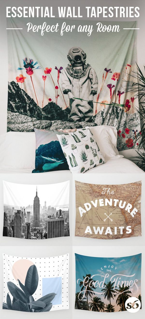 Shop thousands of essential wall tapestries and more at Society6.com. Each purchase supports independent art and the artist behind it.