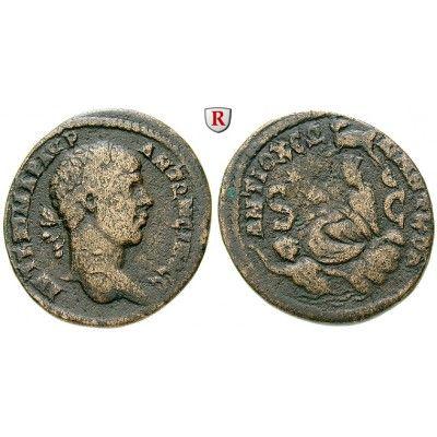 Römische Provinzialprägungen, Seleukis und Pieria, Antiocheia am Orontes, Elagabal, Bronze, f.ss: Seleukis und Pieria, Antiocheia am… #coins
