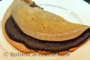 Crepé de trigo sarraceno