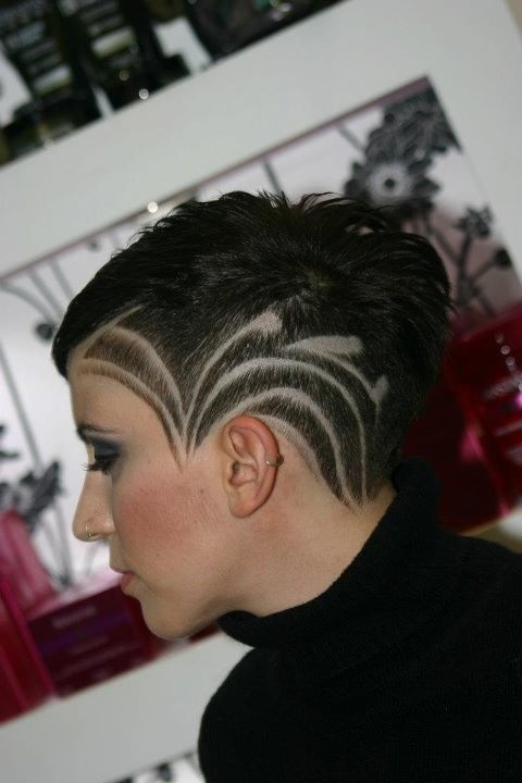 273 best hair art and design images on pinterest hair for Shave before tattoo