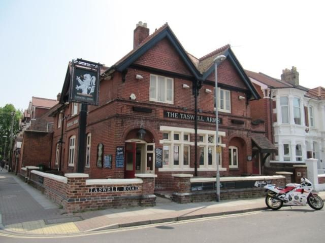 The Taswell Arms, Southsea. Now a private residence.