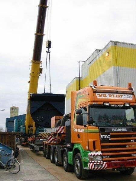 Scania 164G 530. speciaaltransport. Zw.trantsport.