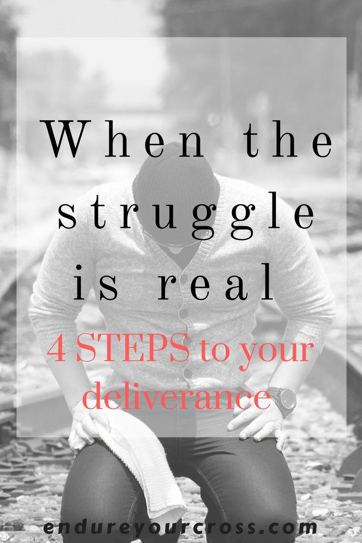 The struggles in life are real, but so is our God. The keys to your deliverance.