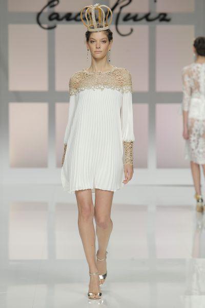 Vestidos de fiesta Carla Ruiz 2017: detalles de palacio en diseños espectaculares Image: 6