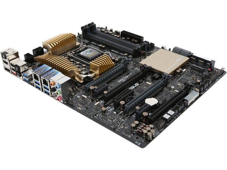 Dual 16x/16x  ASUS Z97-WS Intel LGA1150 HDMI/DisplayPort /Mini DisplayPort Dual server-grade Intel LAN ATX Server Workstation Motherboard for Quad-strength Graphic Power - Newegg.com