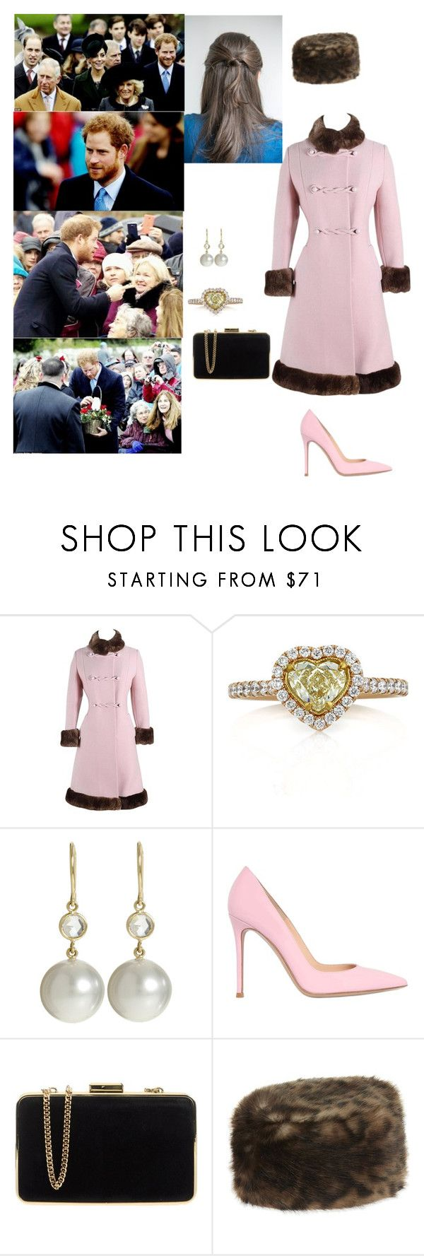 """Attending Christmas Morning Service at St Mary Magdalene Church"" by duchessofoxfordshire ❤ liked on Polyvore featuring Mark Broumand, Finn, Gianvito Rossi, MICHAEL Michael Kors and Helen Moore"