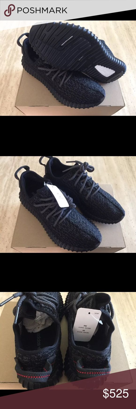 Yeezy 350 Pirate Black Yeezy 350 Boost 350 Pirate Black still available in few women and men sizes. 100% Authentic Deadstock and with receipt. Price is negotiable; text or call me (734) 506-6671. Yeezy Shoes Sneakers
