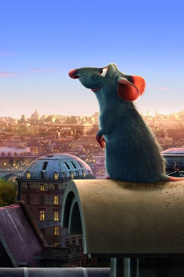 'Rataouille' (2007) American computer-animated comedy film produced by Pixar Animation Studios & distributed by Walt Disney Pictures. Remy is a young rat in the French countryside who arrives in Paris, only to find out that his cooking idol is dead. When he makes an unusual alliance with a restaurant's new garbage boy, the culinary & personal adventures begin despite Remy's family's skepticism & the rat-hating world of humans. Academy Award for Best Animated Feature, among other honors.