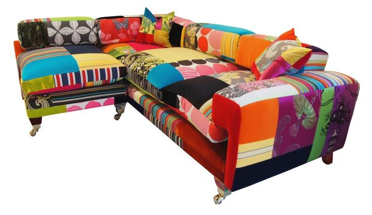 The Redchurch L Shape Multicoloured sofa furniture