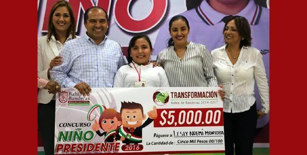 En Bahía de Banderas eligen nuevo Niño Presidente 2016