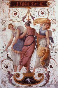 Wall Decoration (detail) (2) - (Francesco Hayez)