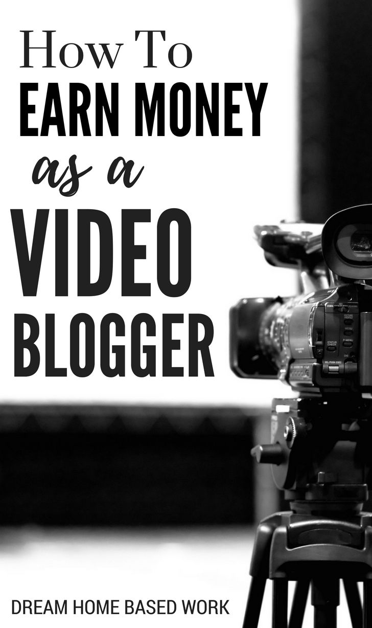 Vlogging, better known as video blogging, is very similar to blogging in the sense both are used to express your ideas and earn money from home.
