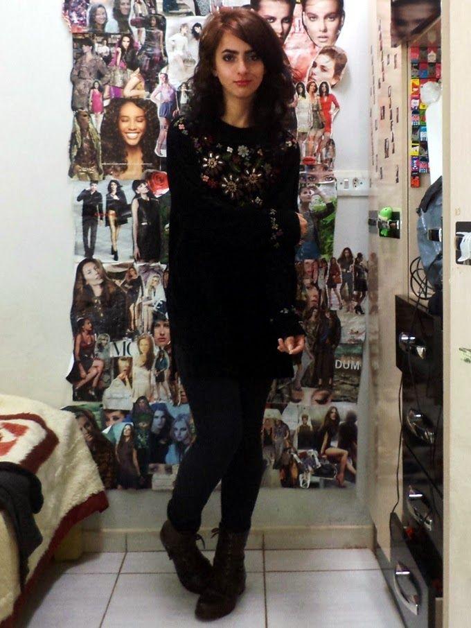 Laiali Safa: Look do dia: Uma blusa de frio que eu gosto