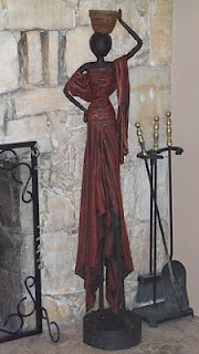 Artisit is Kathryn Fudge from Victoira - Tall statue