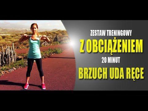 ★ 20 minutowy Trening Total Body z Obciążeniem dla Kobiet // ActiveWoman - YouTube