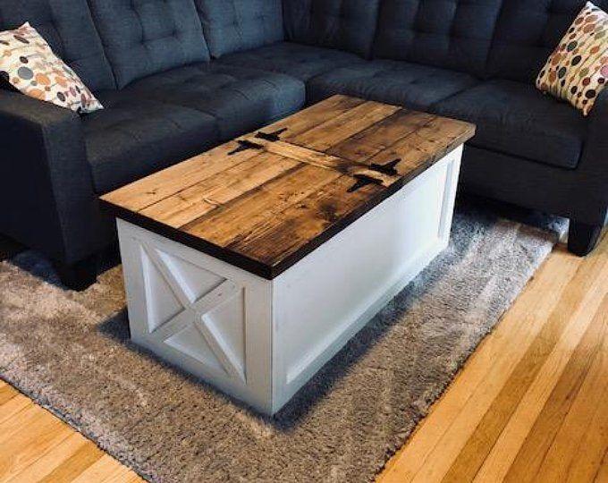 Farmhouse Storage Coffee Table Free Shipping Coffee Table Wood