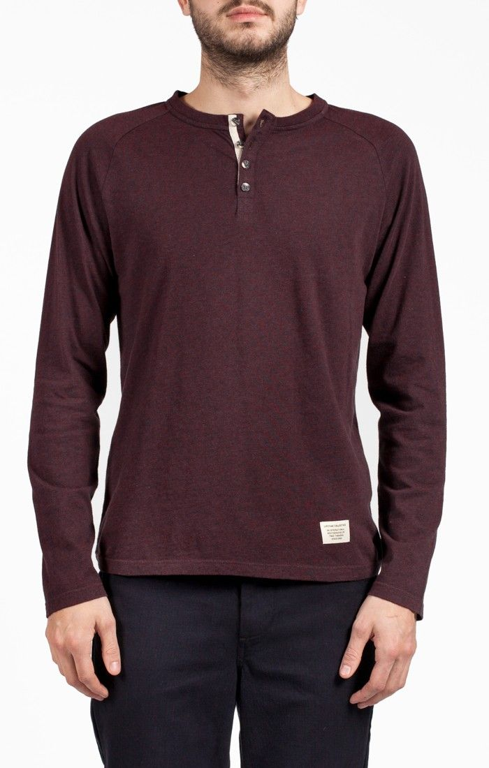 Lifetime Collective / Men's Collection / Knits / Revolver L/S Henley