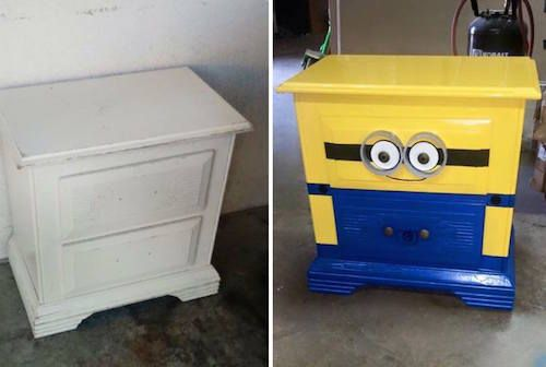 Minion Dresser! Save this DIY project!