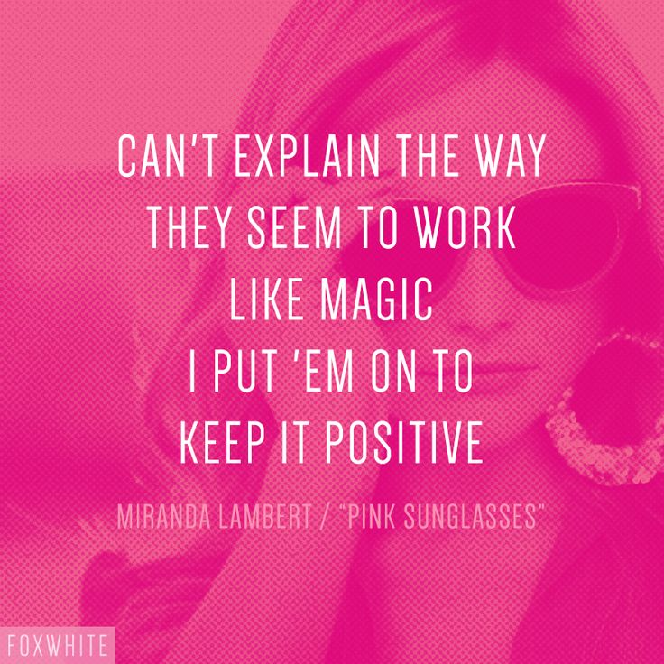"Miranda Lambert – ""Pink Sunglasses"" song lyrics"