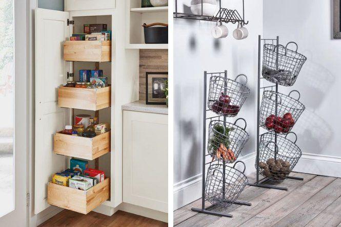 Cómo organizar la despensa: 10 trucos - Ellas Hablan Bookcase, Shelves, Home Decor, Organize Food Pantry, Pantry Organization, Corner Wardrobe, Larder Storage, House Decorations, Furniture