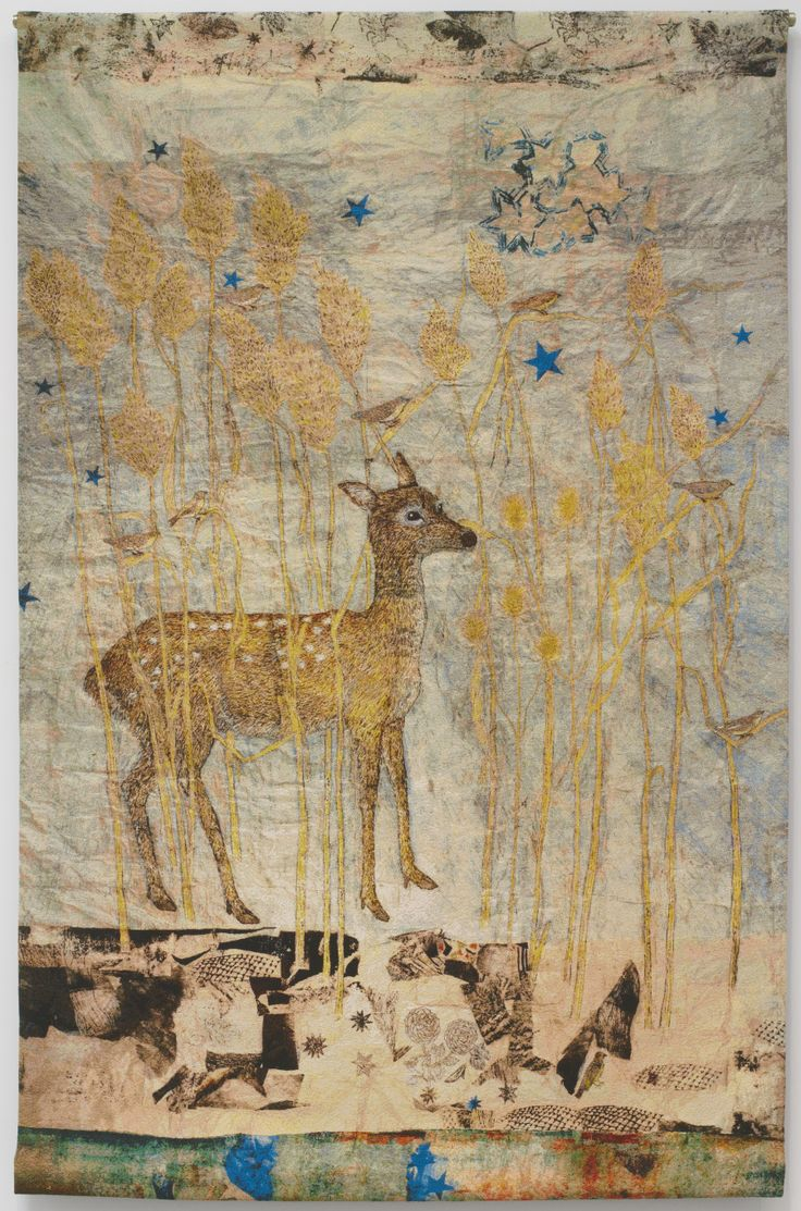 deer, Kiki Smith. Multimedia artist from NYC & upstate NY.