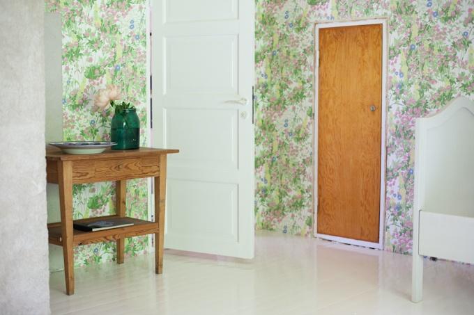 Bedroom - Klöver wallpaper by Arne Jacobsen - Boråstapeter