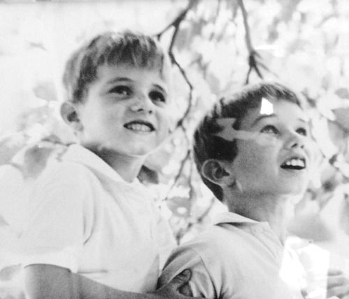 Michael Kennedy and Bobby Kennedy Jr.
