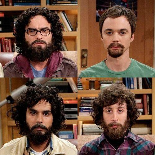 Big Bang Theory beards