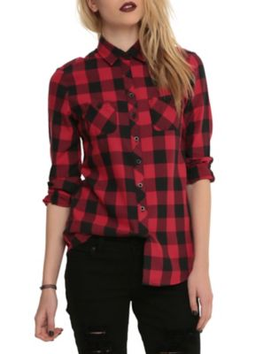 Black And Red Plaid Top - SKU : 10296631 - $29.50