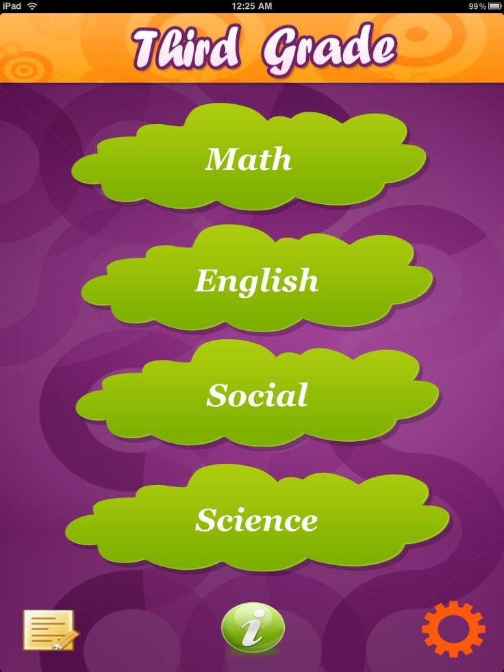 Third Grade for iPad - Educational App