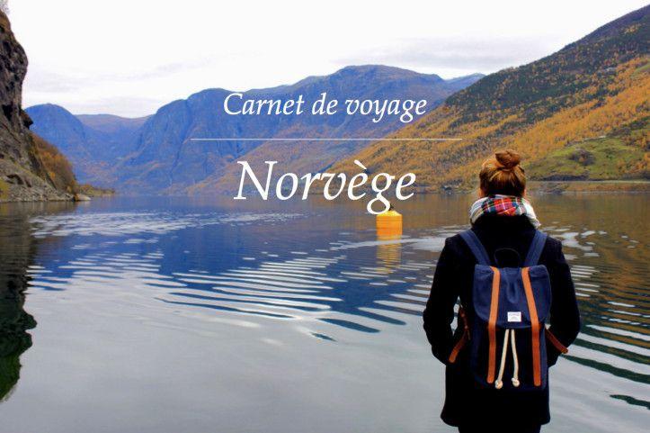 Carnet de voyage - Norvege