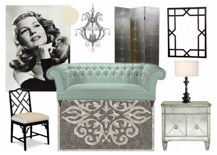 1000 images about hollywood regency glamour decor on for Living room 0325 hollywood
