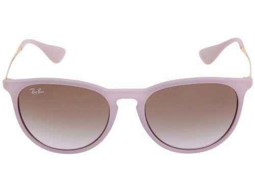 6cc8b657601 ... New Ray Ban RB4171 870 68 ERIKA Violet Frame Brown Gradient Violet Lens  54mm . ...