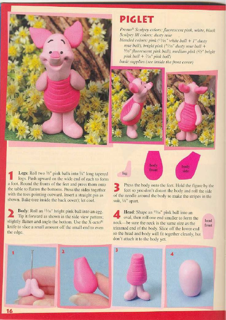 Disney Character Collection Polymer Clay | Scribd