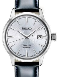 "Seiko Presage ""Cocktail Time"" Automatic Dress Watch with 40mm Case, and Hardlex Crystal  #SRPB43"