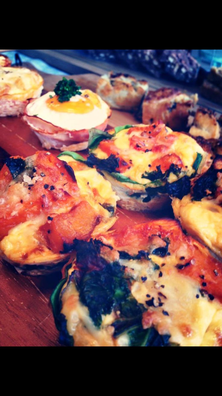 Bacon and egg muffins. All Syn free