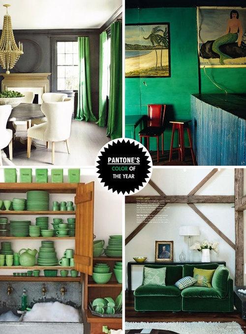 Emerald Green Home Decor Inspiration