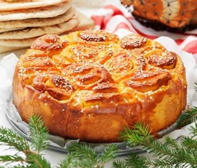 Saffron Wreath with vanilla  recipe in Swedish translate with google