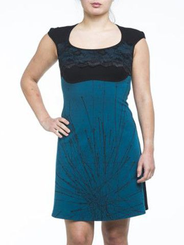 Kollontai Turquoise Farrah dress, made in Canada - One only, size Medi – Silhouette Fashion Boutique
