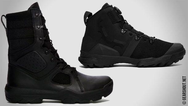 UA FNP и UA Infil BOA - новые военно-тактические ботинки от компании Under Armour