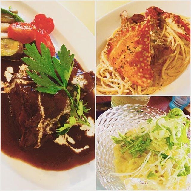 今朝は『sio-ya山喜』で朝ラーして、そのまま米沢市の隠れ家的イタリアン『カッペリーニ』でランチ。『米沢牛の赤ワイン煮』と『ワタリガニのトマトクリームパスタ』をいただきました。美味!! これから夜は飲み放題のコース料理の予定‥食べ過ぎ注意ですね笑 #グルメ #肉 #ラーメン #パスタ #イタリアン #米沢牛 #ワイン #カニ #食べスタグラム  #山形 #米沢 #高畠 #instagood  #delicious