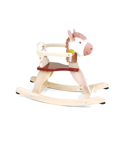 Toddler Rocking Pony From Pintoy from The Wooden Toybox