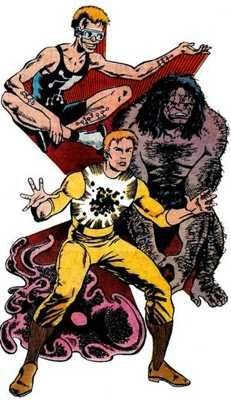 Worst Superhero #4 Manikin (1st Appearance: Alpha Flight #44)  This guy might just be the most complicated superhero of all time. Whitman Knapp can summon three future and past 'selves'. The kicker? These genetic relatives are handpicked from varying shifts in the evolution of the human being. There's Proto, a primeval goo (seriously); Ape-Man, a Neanderthal with brute strength; and Highbrow, an intellectual being from the future with the ability to teleport. Confused? You're not the only…