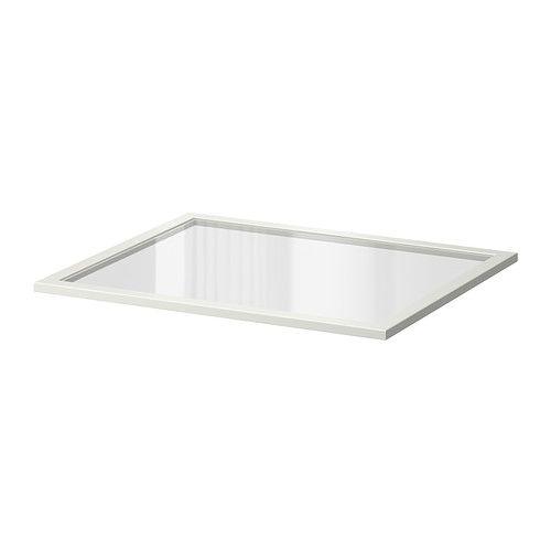KOMPLEMENT ガラス製棚板 - 75x58 cm - IKEA