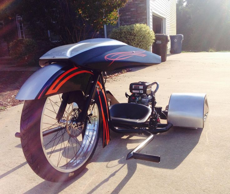 Say hello to the sexiest trike on the market! TDC's Dirty Daddy gas-powered drift trike. TDC has teamed up with Dirty South Drifters to bring you the TDC Dirty Daddy Gas Powered Drift Trike i…
